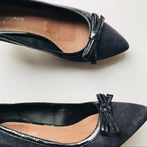 Donald J. Pliner Shoes - Donald J Pliner Navy Kitten Heels